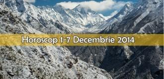 Horoscop 1-7 Decembrie 2014