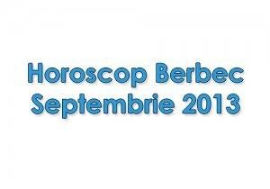 Horoscop Berbec Septembrie 2013