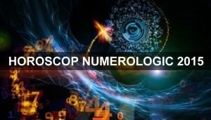 Horoscop numerologic 2015