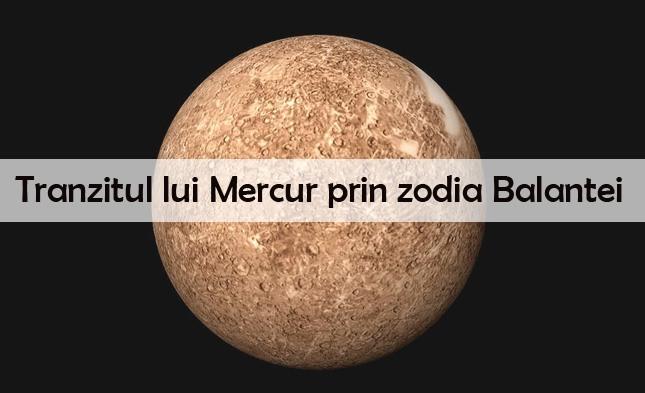 Cum ne influenteaza Mercur din Balanta?