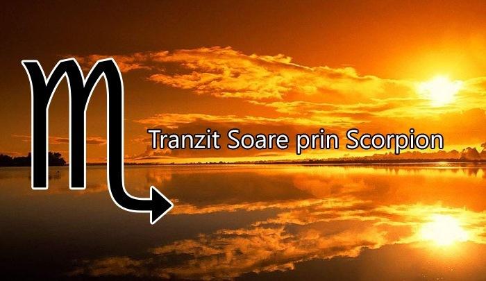 Cum ne influenteaza Soarele din Scorpion