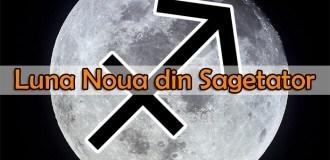 Luna Noua din Sagetator – semnificatii si influente