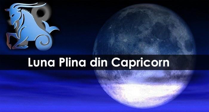 Cum ne influenteaza Luna Plina din Capricorn